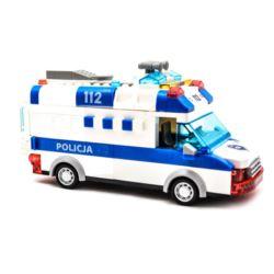 KLOCKI POLICJA 68 ELEMENTÓW