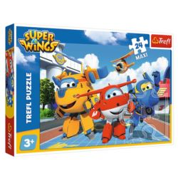 PUZZLE 24 MAXI. SUPER WINGS WESOŁE SAMOLOTY