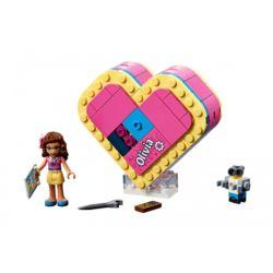 LEGO FRIENDS 4135 PUDEŁKO W KSZTAŁCIE SERCA OLIVII
