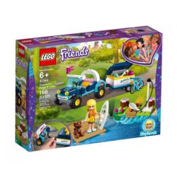 LEGO FRIENDS 41634 ŁAZIK Z PRZYCZEPKĄ STEPHANIE