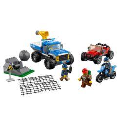 LEGO CITY 60172 POŚCIG GÓRSKĄ DROGĄ