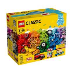 LEGO CLASSIC. KLOCKI NA KÓŁKACH