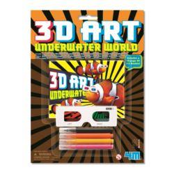 ART&CRAFT. 3D ART - ŚWIAT PODWODNY