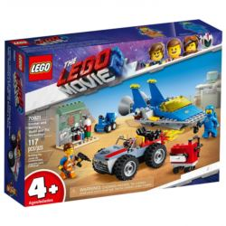LEGO MOVIE 2 70821 WARSZTAT EMMETA I BENKA