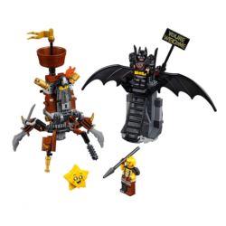 LEGO MOVIE 2 70836 BATMAN I STALOWOBRODY