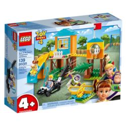 LEGO JUNIORS PRZYGODA BUZZA I BOUE NA PLACU ZABAW