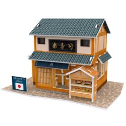 PUZZLE 3D. DOMKI ŚWIATA- JAPONIA SUSHI HOUSE