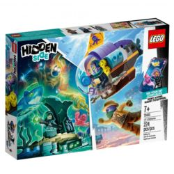 LEGO HIDDEN SIDE 70433 ŁÓDŹ PODWODNA J.B.