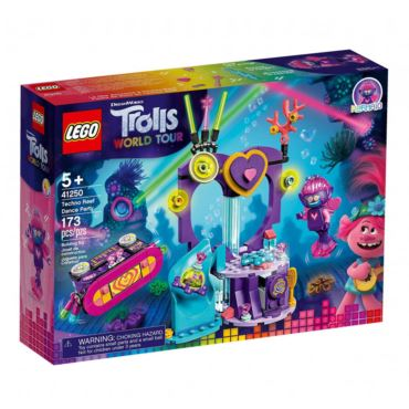 LEGO TROLLS 41250 IMPREZA TECHNO NA RAFIE
