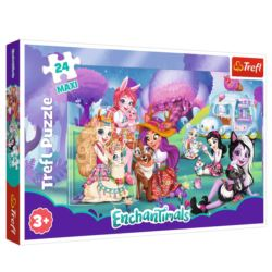PUZZLE 24 MAXI. WESOŁY ŚWIAT ENCHANTIMALS