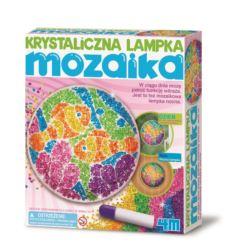 ART&CRAFT. KRYSTALICZNA LAMPKA - MOZAIKA