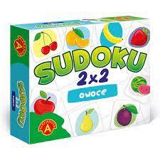 SUDOKU 2X2 OWOCE