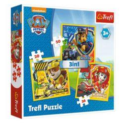 PUZZLE 3W1 20,36,50. PSI PATROL