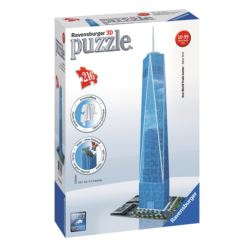 RAVENSBURGER PUZZLE 3D WORLD TRADE CENTER 216EL
