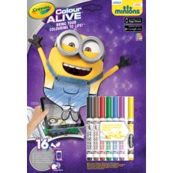 COLOUR ALIVE. MINIONKI